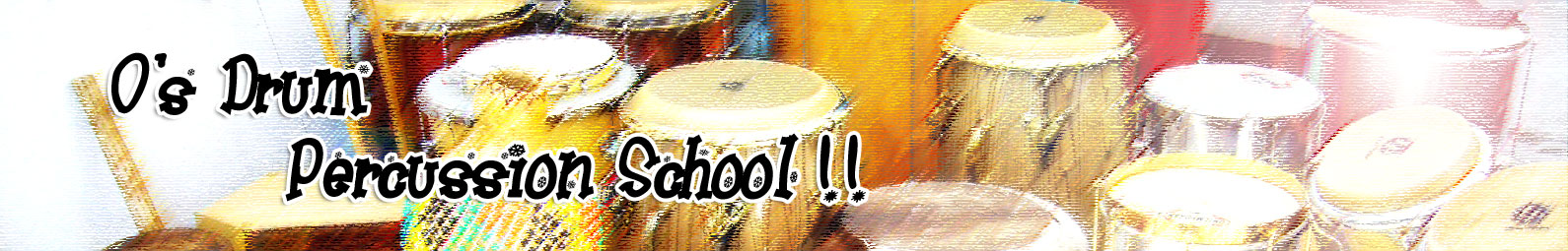 大阪 奈良 京都 からもアクセス ドラムスクール パーカッションスクール ポルトガル語教室 の O'sドラム パーカッション教室